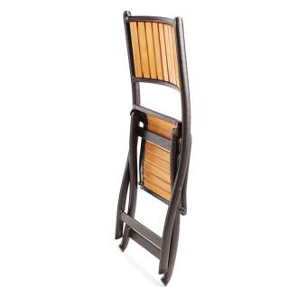 海山豪华铝木折叠椅