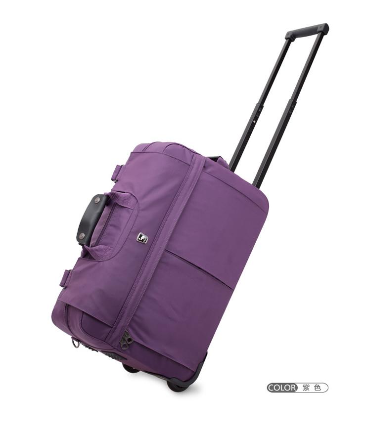 爱华仕拉杆包拉杆箱子男行李包旅行包旅行箱女旅行袋