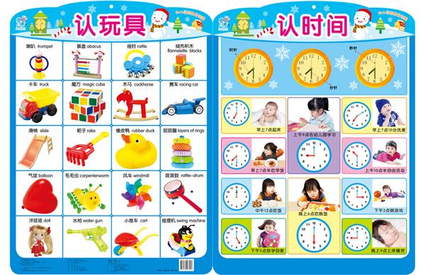 《幼儿教育学前挂图大全(全22张)套装》【摘要