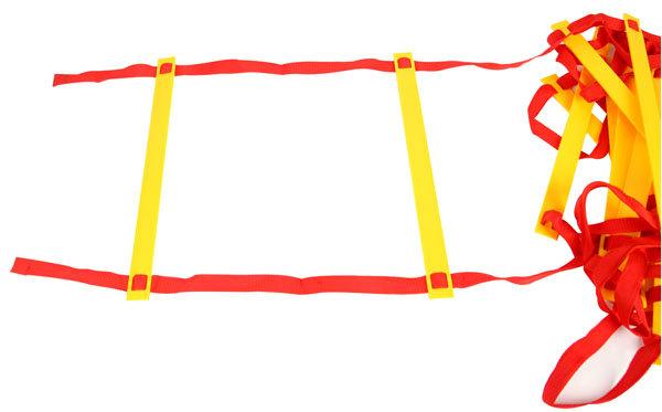 4米9节足球训练软梯群体跳