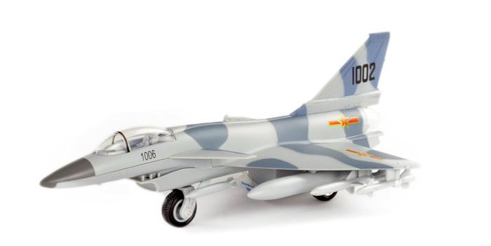 战斗机 回力合金飞机模型玩具
