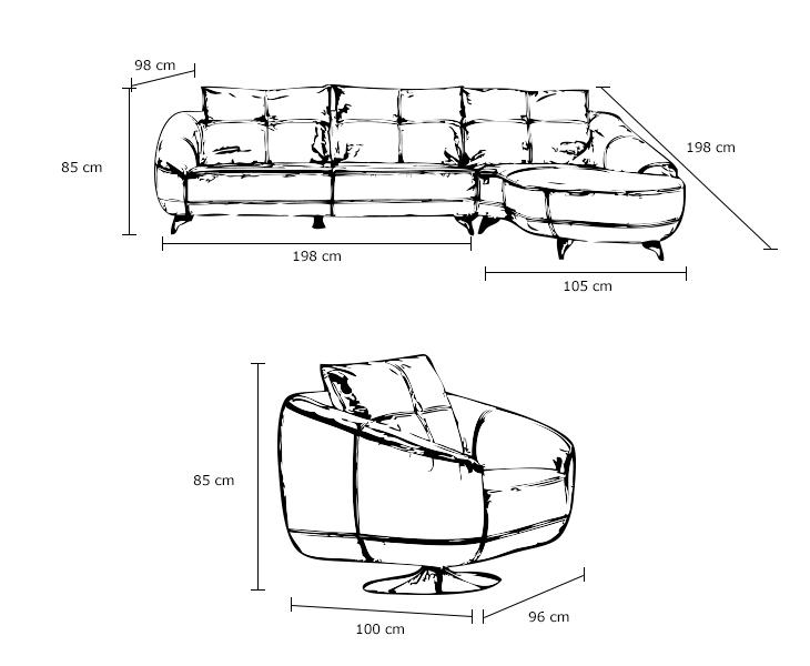 沙发怎么画简笔画步骤