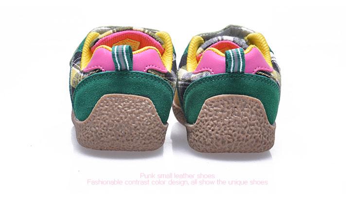 儿童皮鞋磨砂