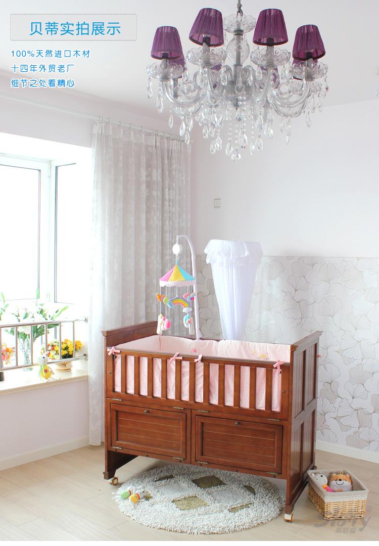 车床桌椅 婴儿床 斯塔瑞 斯塔瑞-贝蒂高档多功能婴儿床  快销节!