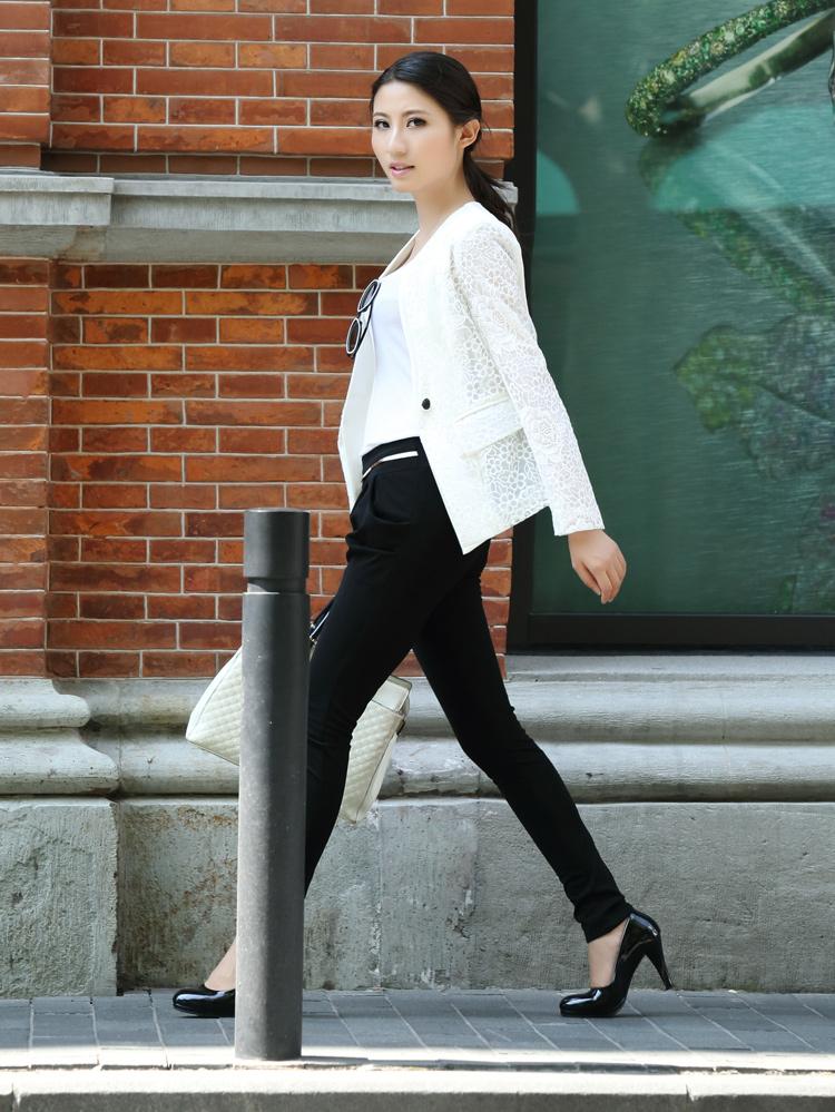 韩版淑女女装小外套 小女装店装修效果图 小西服女装新款