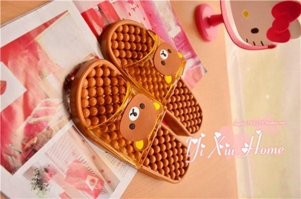 卡通hello kitty 轻松小熊韩国浴室洗澡拖鞋