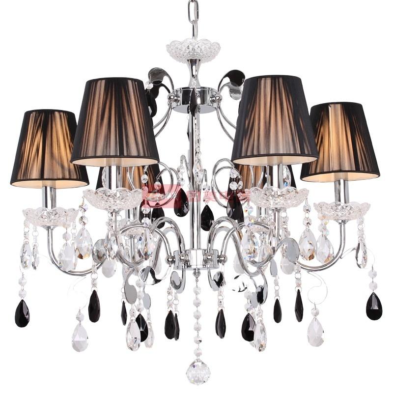 埃弗顿灯饰 md9061-6水晶吊灯 欧式时尚客厅水晶吊灯