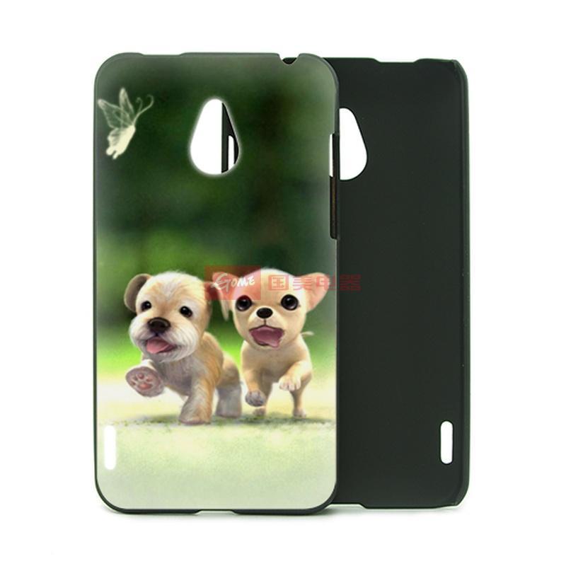 三少 魅族 mx 手机保护外壳 手机套 时尚动物 可爱狗狗