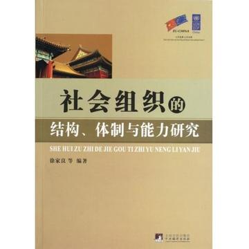 社会组织的结构体制与能力研究