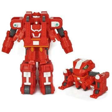 灵动创想 快乐酷宝变形益智玩具 雷霆战宝7512