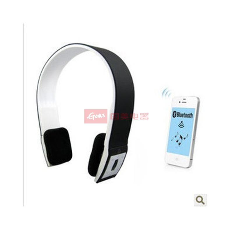 纽曼x6 蓝牙耳机 头戴耳麦 支持通话功能 安卓苹果 高端蓝牙耳机(纯白