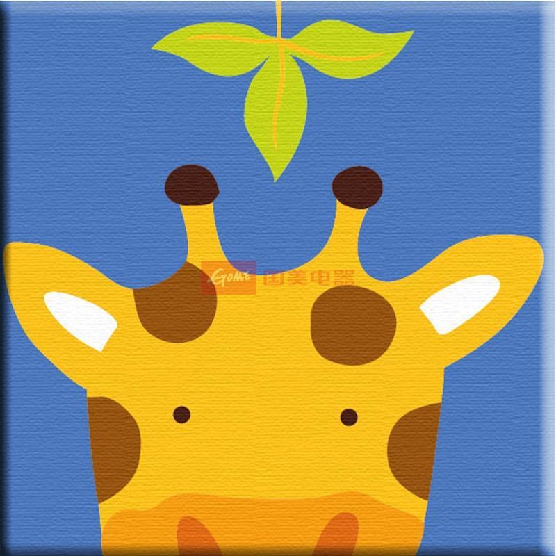 动物连连看系列长颈鹿