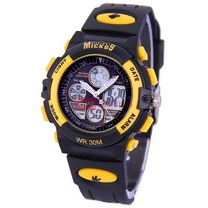disney/迪士尼ps021led手表儿童手表学生电子表ps021