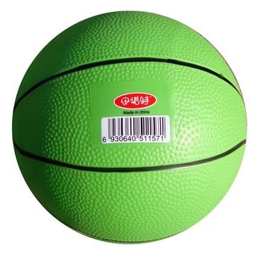 伊诺特 8英寸 20cm pvc儿童篮球 幼儿园训练专用(绿色