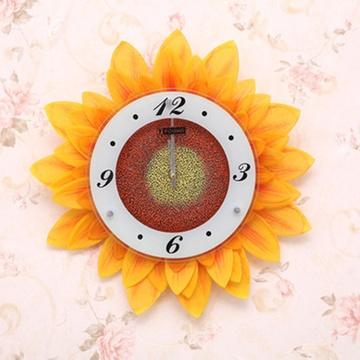 向日葵花 创意挂钟 创意钟表 时尚挂钟 ajh42