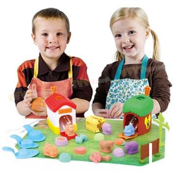 迪士尼新品3d打印机打印泥儿童diy玩具安全粘土ds-1313 动物世界