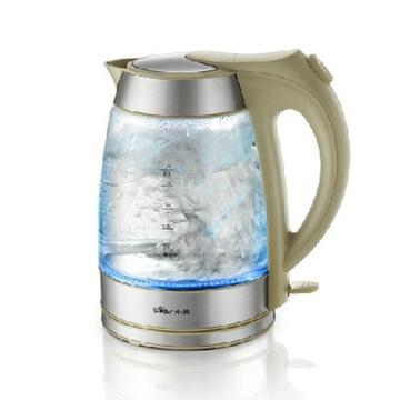 bear/小熊 zdh-8023电热水壶 高硼硅玻璃电水壶烧水壶