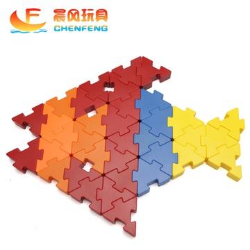 晨风玩具 益智拼插桌面玩具乐高式积木拼图拼板插块3岁促销