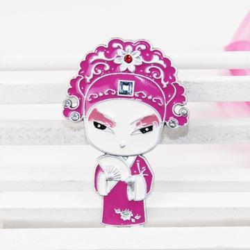 欧式彩绘冰箱贴创意韩国流行家居装饰品立体动物造型