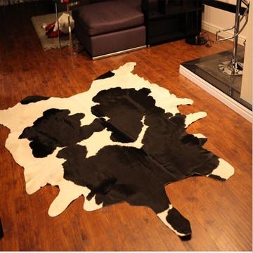 牛皮地毯 客厅地毯 时尚