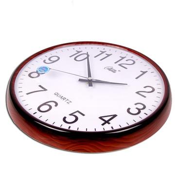 康巴丝欧式挂钟 时尚简约石英钟表客厅静音创意时钟