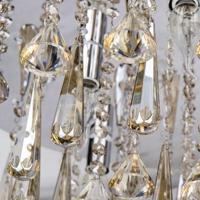 光恩garnen 欧式奢华吸顶灯led话筒水晶灯 客厅卧室餐厅灯8202(直径80