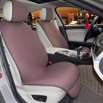 绑菲翔专车专用坐垫 厂家定做 菲亚特菲翔专用四季垫 紫色高清图片