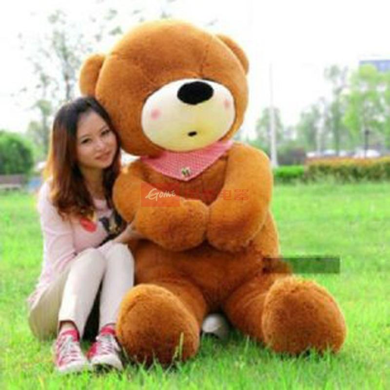 大眼猫泰迪熊可爱瞌睡公仔布娃娃熊猫玩具情人节毛绒玩具大号生日1.斤称礼物靠谱吗图片