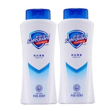 舒肤佳纯白清香型沐浴露400毫升*2瓶
