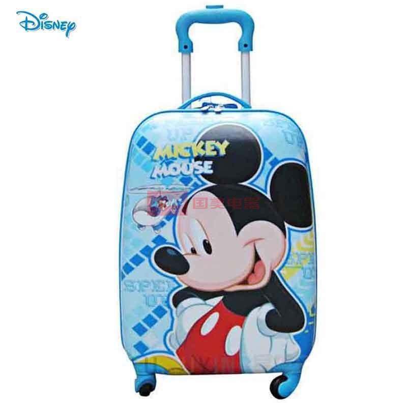 新款迪士尼正品米妮儿童行李箱旅行箱女生登机箱abs拉杆箱sm80347(sm