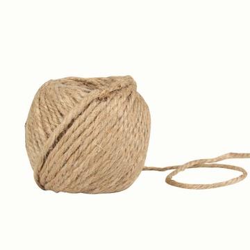 22米原色细腊麻绳吊饰麻蜡绳幼儿园手工diy