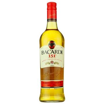 bacardi百加得_洋酒BACARDI 151 Rum百家得)百加得151朗姆酒75.5度750ml正品价格(怎么样 ...