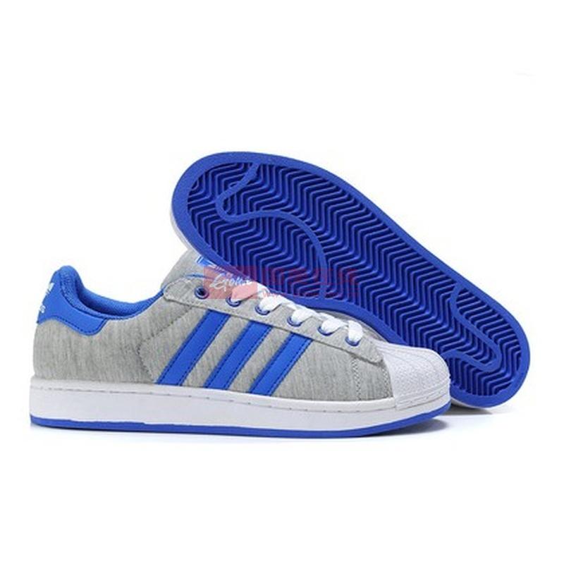 adidas布鞋蓝色