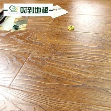 财到地板 强化复合木地板 黄金麦田