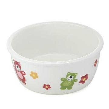 汕乾 圆形保鲜碗 陶瓷饭盒 卡通可爱保鲜盒陶瓷密封碗