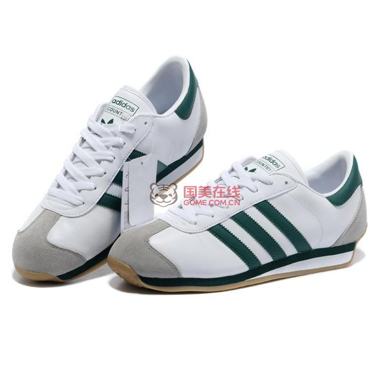 adidas country ii阿迪达斯三叶草情侣款 乡村系列男鞋女鞋跑鞋运动鞋