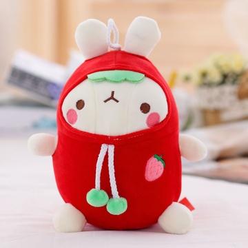 可爱流氓兔公仔 毛绒玩具兔兔玩偶布娃娃 儿童节生日礼物女生(土豆兔