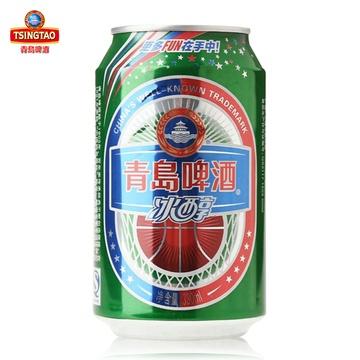青岛啤酒 10度冰醇啤酒330ml*6听