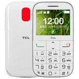 TCL i310 GSM老人手机 超大字体,按键,铃声,简单易用的老人手机!(纯净白 官方标配)