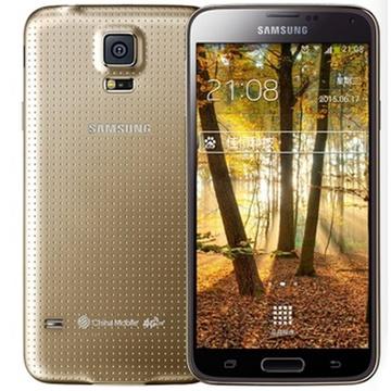 三星(samsung)galaxy s5 g9008v 移动4g手机(金色 官方标配)
