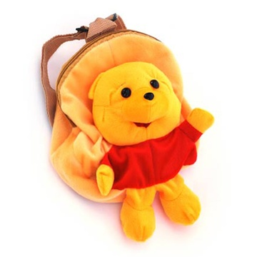动物毛绒背包--小熊