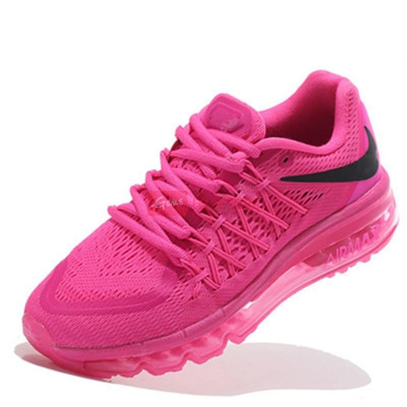 耐克nike air max2015新款全掌气垫网面 男鞋运动鞋女鞋情侣跑步鞋(骚