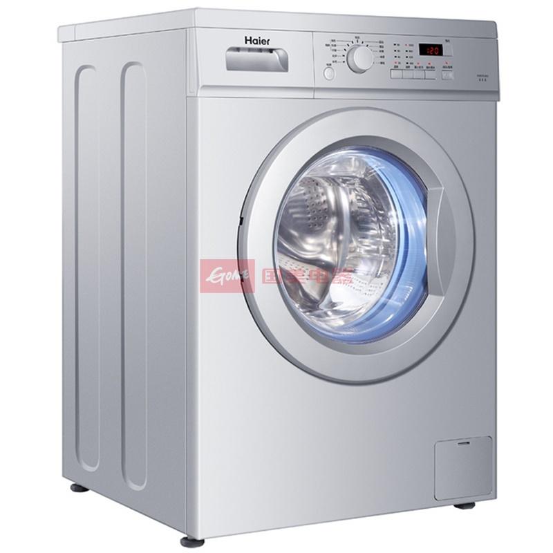 海尔(haier)xqg60-812 家家爱6公斤amt滚筒洗衣机银灰