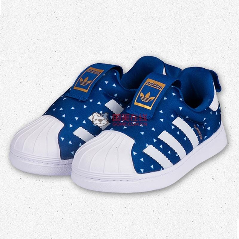 阿迪达斯休闲鞋 板鞋图片 新款SPUERSTAR 阿迪达斯 Adidas 儿童鞋休闲