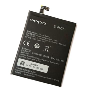oppo n1电池 oppo n1 n1w n1t手机电池 blp557原装电池 内置电板