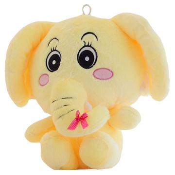 可爱卡通长鼻子大象可爱公仔布娃娃毛绒玩具送女生节