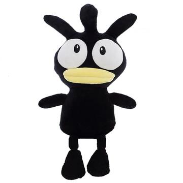 韩国超呆萌黑小鸡公仔毛绒玩具趣味可爱娃娃玩偶创意男女生日礼物