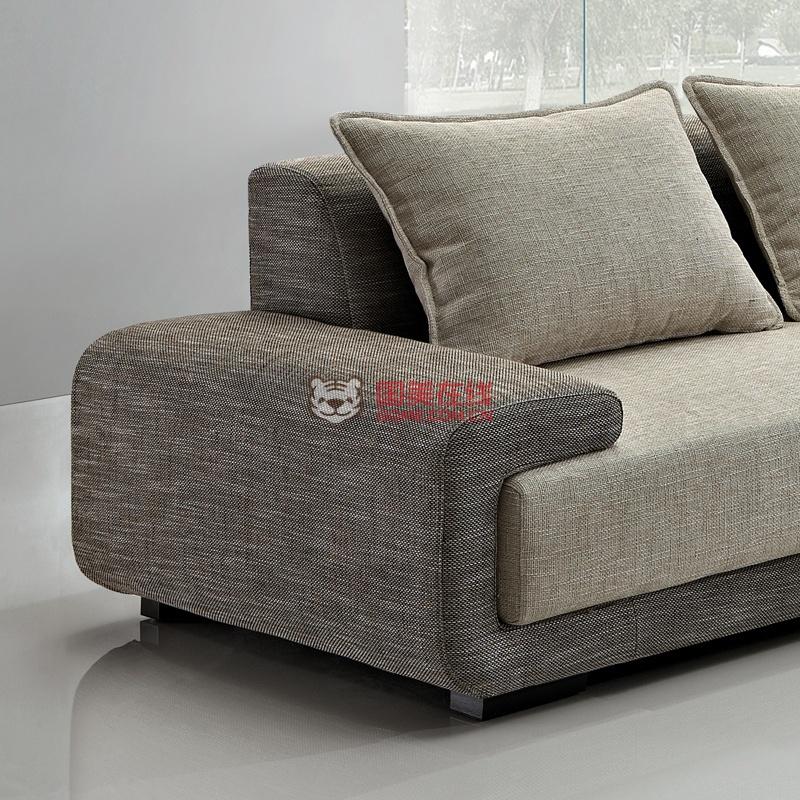 乔林曼兰 小户型 棉麻布艺沙发