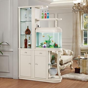 鱼缸水簇门厅玄关柜