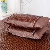 天池茗品 枕套 竹枕头套 夏季枕套(金色枕套 一个装)